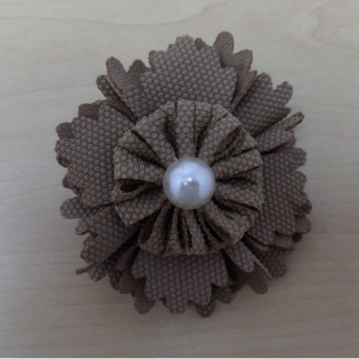Small Flower - Brown-0