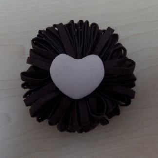 Large Flower - Chocolate-0