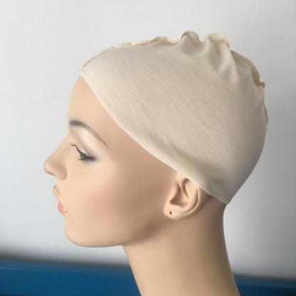 Cream wig liner