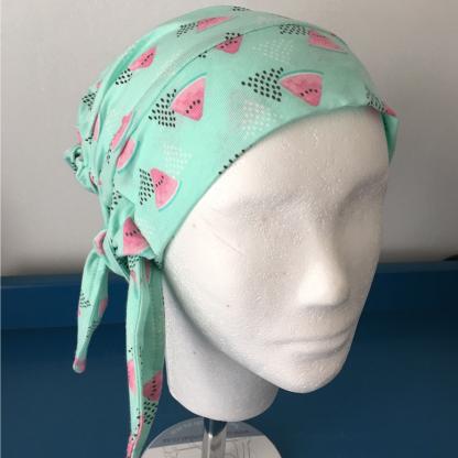 Mihla hat - Watermelon - bow side