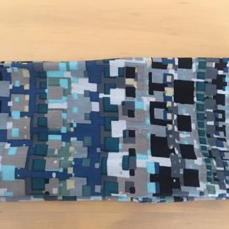 Mint and Blue Abstract headband