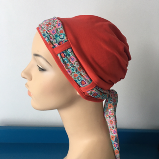 Blood Orange Landa Turban